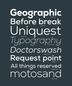 Nexa - Sans Serif Font by Fontfabric