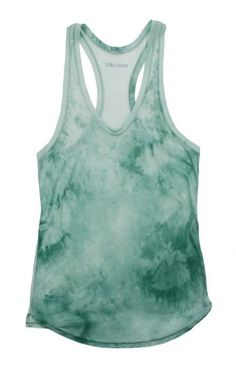 tie-dyed tank