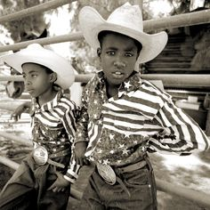 Young Black Cowboys