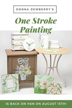 Donna Dewberry is back on HSN. We will have some new kits with reusable teaching guides and fun new designs. if you are unable to watch click to be taken to the HSN Store