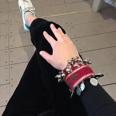 A banjara cuff on black velvet goes a long way  #banjara #cuff #velvet #blackvelvet #outfit  India, Jewellery, Instagram Posts, How To Make, Collection, Jewelery, Jewlery
