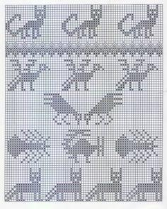 Andean Knitting charts + The Andean Tunics (Met.Museum) - Monika Romanoff - Picasa webbalbum