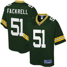 ad134c125ae Solomon Thomas jersey Kyler Fackrell Green Bay Packers NFL Pro Line Youth Player  Jersey - Green
