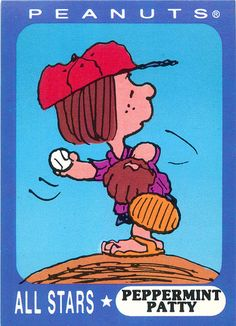 Ziploc Peanuts All Stars Cards Peppermint Patty | by andertoons