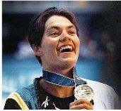 Penny Heyns wins double gold at Atlanta Olympics  Atlanta was the host city of the centennial Olympics. South Africa managed to win five medals (three golds, two silvers and one bronze). The South African star of the tournament was Penelope Heyns. She is the only woman in the Olympic Games to have won the 100m and 200m breaststroke events and she is also considered one of the greatest breaststroke swimmers.