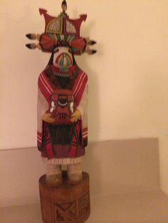 Hopi butterfly maiden by Nolan Nasafote