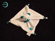 "Kuscheltuch ""Pelo Maus"" von Handmade by Lelua auf DaWanda.com"
