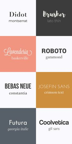 Choose the right typography - Atelier Bien choisir sa typographie — Atelier Nobo Fonts Pairings - Design Web, Good Design, Header Design, Clean Design, Vector Design, Design Trends, Graphic Design Posters, Graphic Design Inspiration, Modern Graphic Design