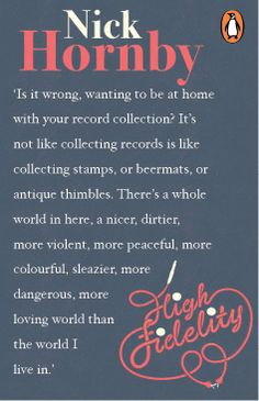 high fidelity - quote - nick hornby - book - movie - film - what came first - the music or the misery ? Bedtime Reading, Love Reading, High Fidelity Quotes, Movie Quotes, Book Quotes, Nick Hornby, Boys Are Stupid, Music Is My Escape, Word Up