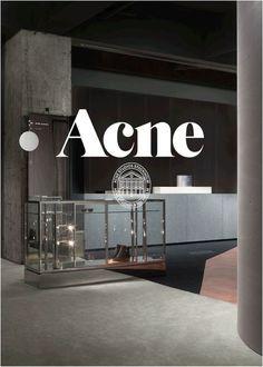 Acne Studios - Département Féminin Fashion Edito, Deco, Atelier, Magasin  Design D  e8ba50750a6