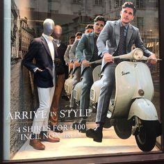 """CHARLES TYRWHITT, Regent Street, London, UK, """"Arrive in Style"""", photo by Somos Todos VM, pinned by Ton van der Veer"""