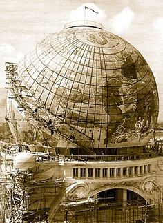 The Gigantic Globe, Paris Exposition Universelle 1900