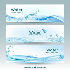 #Water is a big problem of the world! If you are interested and want to create a non-profit website to promote water protection, this is the best choice to design #banner for it.