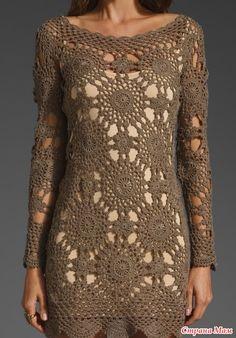 vestido croche com receita - Pesquisa do Google