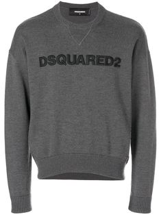 Shop online logo sweater as well as new season, new arrivals daily. Sweater Hoodie, Grey Sweater, Pullover, Milan Fashion, Mens Fashion, Apparel Design, Dsquared2, Baby Design, Women Wear