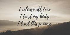 I release I trust