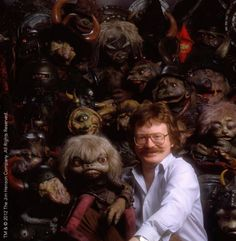 Brian Froud with Labyrinth goblins Labyrinth Goblins, Labyrinth Movie, Jim Henson Labyrinth, John Howe, Labrynth, Brian Froud, Last Unicorn, Goblin King, The Dark Crystal