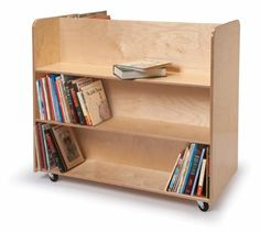 Whitney Brothers Birch Laminate Two Sided Mobile Library Cart Whitney Brothers http://www.amazon.com/dp/B00510LOBS/ref=cm_sw_r_pi_dp_kBnKub039DCVP