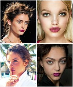 Spring 2014 Beauty {Berry Lips}
