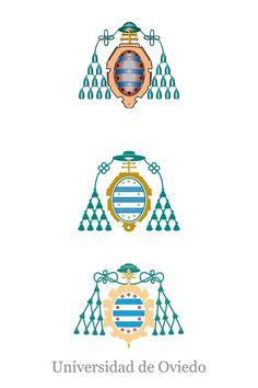 Proceso de diseño del escudo de la Universidad de Oviedo #design #university