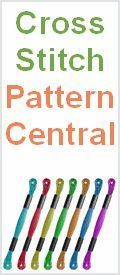 Cross Stitch Pattern Central - Online Directory of Free Cross Stich Patterns, Charts & Designs, Tutorials, Testimonials, Tricks & More!