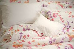 Porthault Floral Sheets. For color in the classiest way!