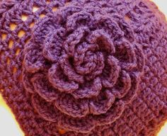 Easy Rose  ~ free pattern