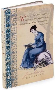 Jane Austen Writing Journal, favorite journal I have ever had
