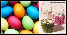 DIY Flowered Easter Basket Tutorial