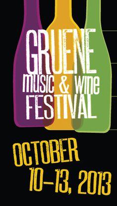 Gruene Music & Wine Festival, Gruene, Texas
