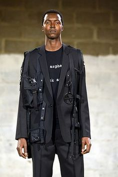 Raf Simons Spring 2003 Menswear Fashion Show Collection