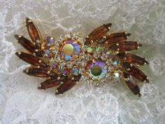 Vintage Brooch Juliana DeLizza Elster DE by SweetJennsVtgJewelry, $36.00