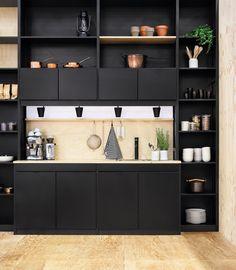 36 cuisines noires à reproduire chez vous