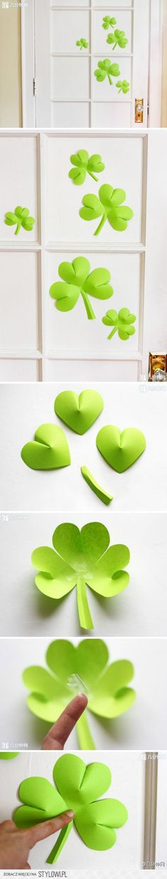 From hearts to shamrocks - decorating your home or classroom for St. Patrick's Day
