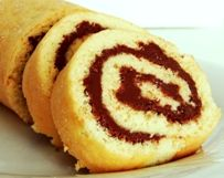 Oat Bran Vanilla Swiss Roll with Cocoa Spread (Dukan Diet PP Cruise Recipe) | Diet Plan 101