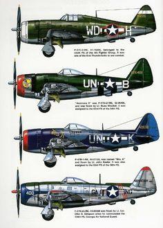 P-47 profiles