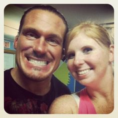 At a wrestling show with Rhino!! ECW WWE and TNA Superstar and nicest guy ever!