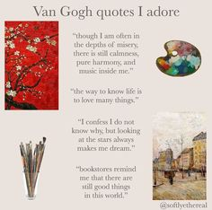 Poem Quotes, Words Quotes, Wise Words, Art Quotes, Life Quotes, Inspirational Quotes, Van Gogh Quotes, Sayings, Journal Quotes