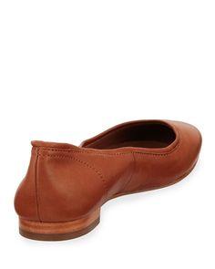 Frye - Gloria Soft Leather Ballerina Flat Frye Shoes, Ballerina Flats, Soft Leather, Clogs, Loafers, Fashion, Clog Sandals, Travel Shoes, Moda