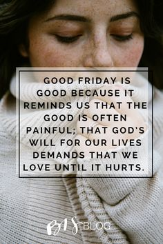 Good Friday // Feel the Nails - Blessed Is She