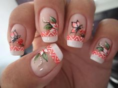 For all of you looking for summer nails ideas, we have selected 20 adorable butterfly nail art designs to inspire you. Butterflies on the nails are Girls Nail Designs, Cute Nail Designs, Butterfly Nail Art, Flower Nail Art, Christmas Nail Designs, Christmas Nail Art, Trendy Nails, Cute Nails, Airbrush Nails