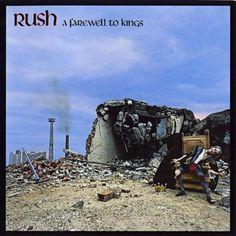 ☮ American Hippie Music Album Art ~ A Farewell To Kings - Rush. 1977.