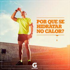 #Pinterest No calor os atletas podem perder de um a dois litros de suor por hora de treino e a maioria deles ingere menos líquido que a quantidade perdida.