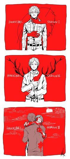 Hannibal season one two three Hannibal Lecter, Hannibal Tv Series, Nbc Hannibal, Hannibal Season 1, Hannibal Quotes, Will Graham, Breaking Bad, I Love Series, Sherlock