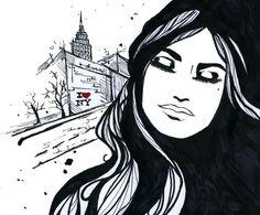 wall art, nexttimeigo2 nyc, bon voyag, fashion illustrations