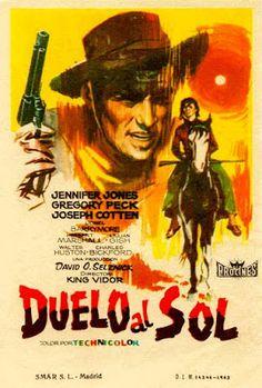 Carteles del cinema: 1946 - DUELO AL SOL - Duel in the Sun