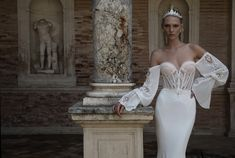 Get inspired by the latest 2017 bridal wedding dress collection from the world of Alon Livne White. Beautiful Wedding Gowns, Luxury Wedding Dress, Wedding Dress Trends, White Wedding Dresses, Designer Wedding Dresses, Bridal Dresses, Corset Wedding Gowns, Couture Wedding Gowns, 2017 Bridal