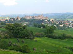 Among the hill of Ancona Province, Corinaldo!