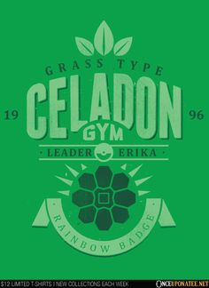 """Celadon City Gym-""""Celadon City Gym"""" features the Rainbow Badge Gym Leader and the master of all things Grass."""