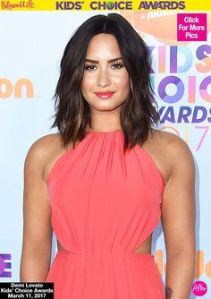 Demi Lovato Reveals Major Hair Makeover At KCAs — See Her Short LobCut